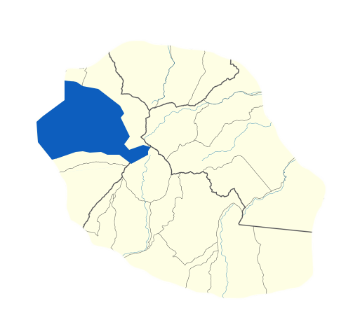Carte Saint-Paul Réunion