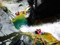 Canyoning-bras-rouge